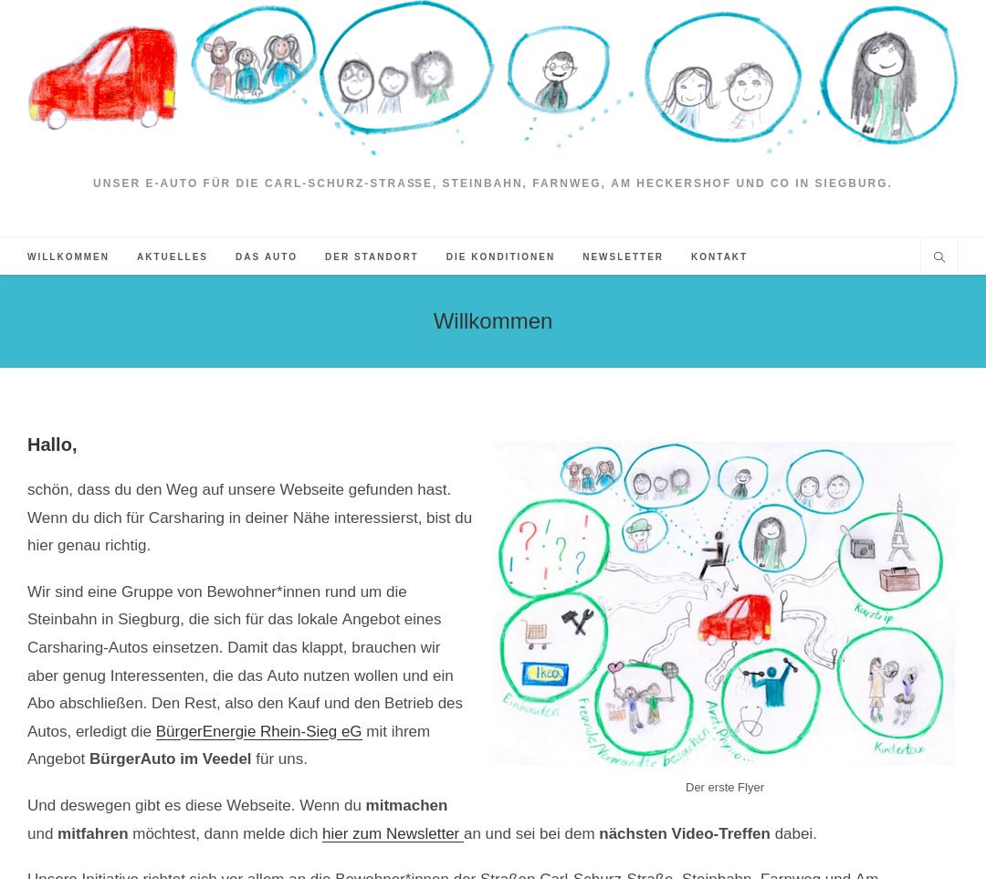 Eine Homepage