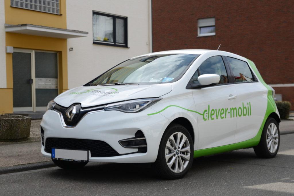 Renault ZOE - Außenansicht